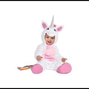 Infant/baby unicorn halloween costume
